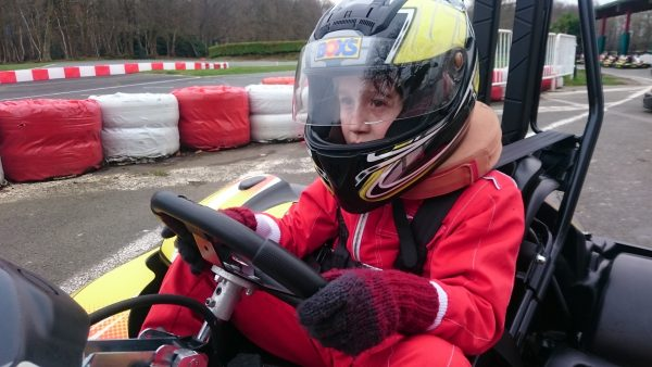 STAGE PILOTAGE KARTING JUNIOR